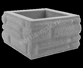 Блок столба Бутовый камень малый