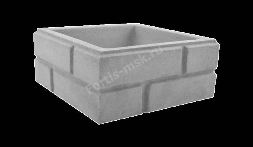 Блок столба Кирпич классический большой 380х380х165мм