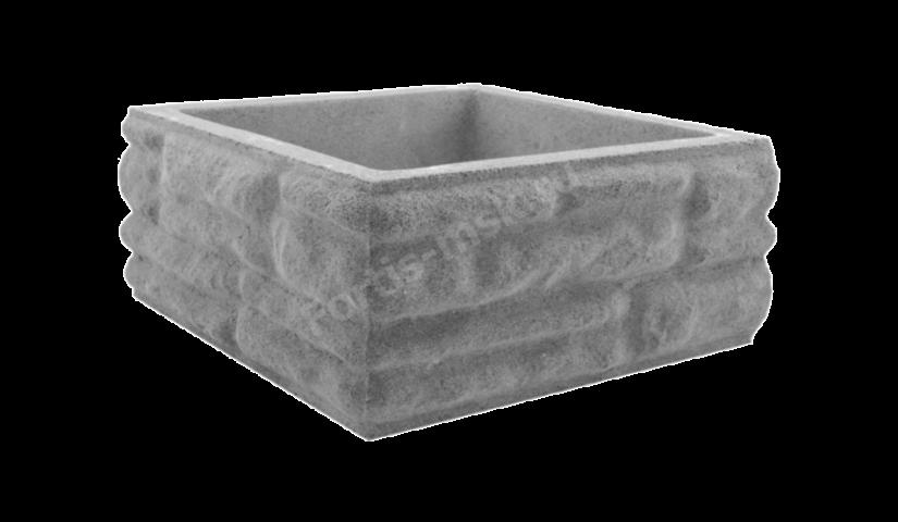 Блок столба Скала большой 400x400x165мм