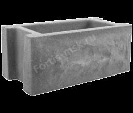 Блок забора Карельский камень 400х200х165мм