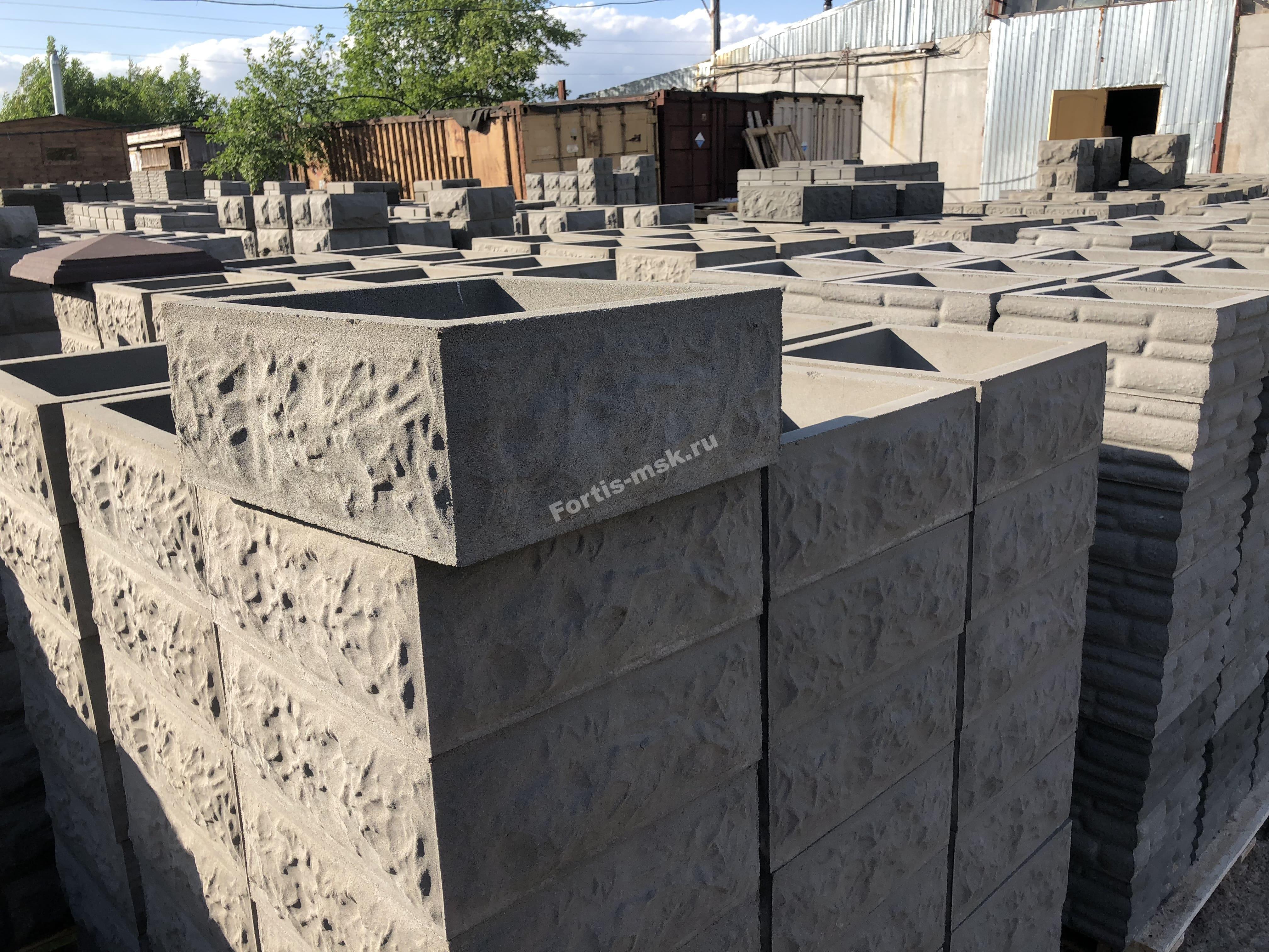 Высокотехнологичное производство блоков из бетона