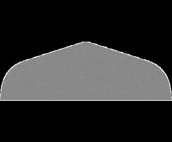 Крышка забора, парапета двухскатная 16