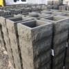 Блок столба рубленый камень