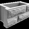 Блоки для забора и подпорных стенок